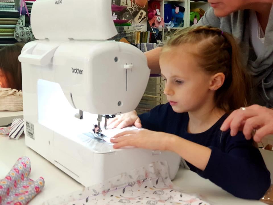 Kinder Nähkurs Kindergeburtstag Workshop Jungesellinnenabschied bei Schnittverhext