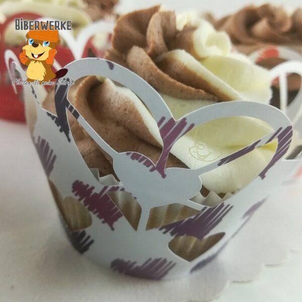 Biberwerke CupcakeWrapper Herzchen