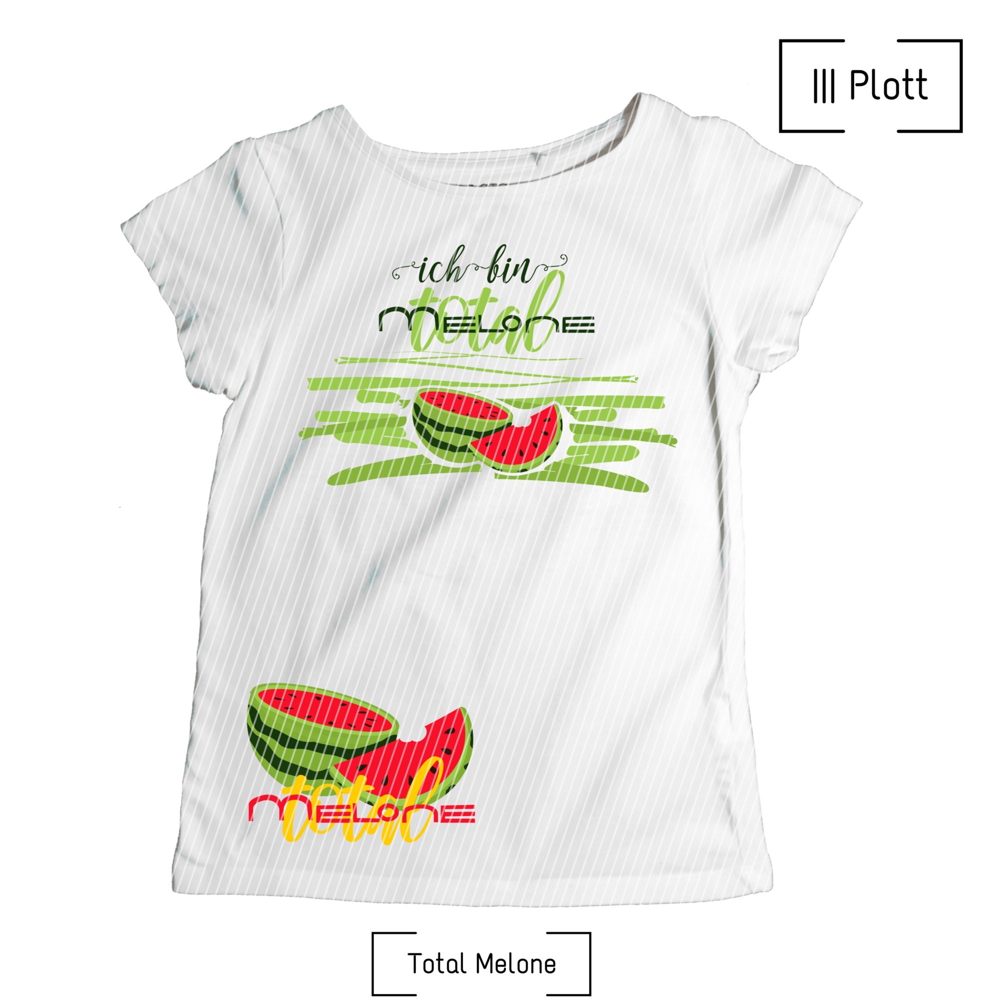 Total Melone Plott Schnittverhext