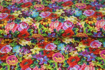 Sommer Sweat - Be your best Kombi Flowers – Ottobre