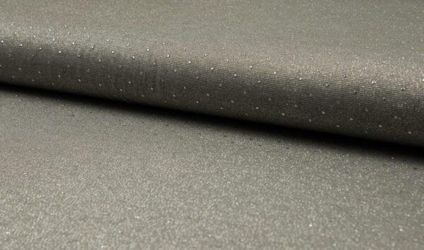 Sparkling Drops Viskose Jersey - khaki