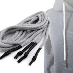 Hoodie Kordeln / Schnürsenkel mit Endstücken - Länge 130 cm (versch. Farben)