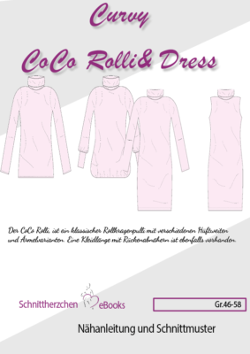 Ebook, Curvy CoCo Rolli & Dress
