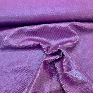 Jackenstoff SHINY SCALES - lila