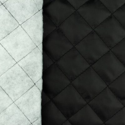Innenfutter gesteppt - schwarz