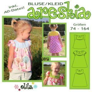 Schnittmuster Bluse/Kleid Areskia von olilu