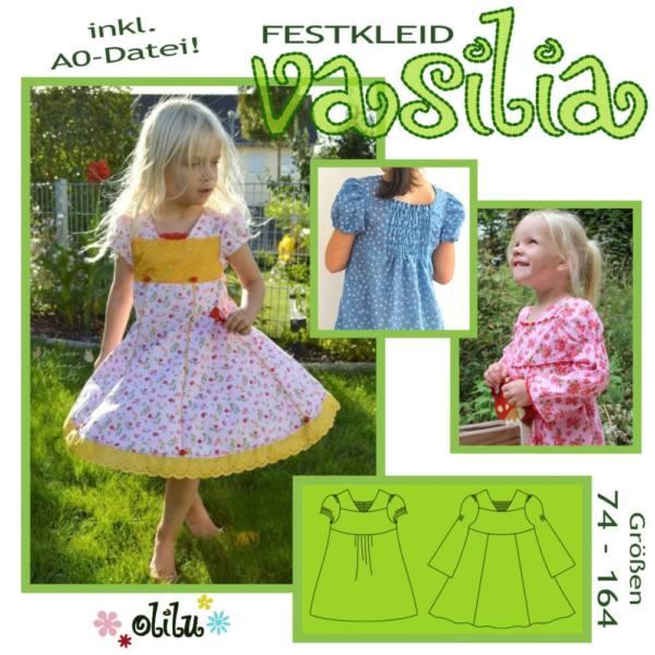 festkleid vasilia 74-164 kleid für prinzessinnen