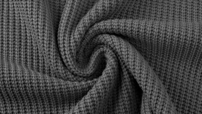 Strickstoff Big Knit - anthrazit