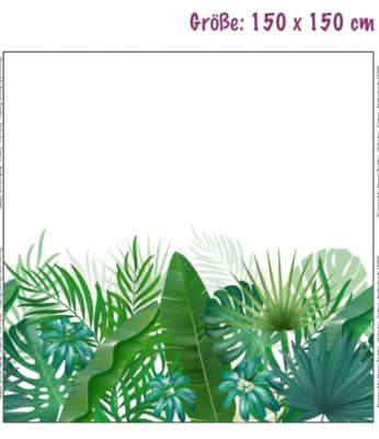 Jersey Panel - Palm trees
