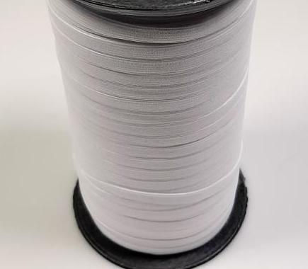 Flachelastic - 5mm - weiß