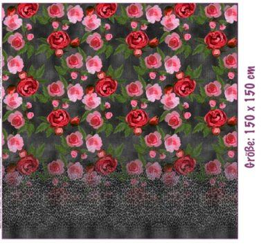 Jersey Panel - Leo roses