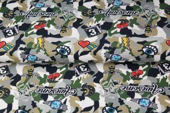 Jersey Camouflage khaki
