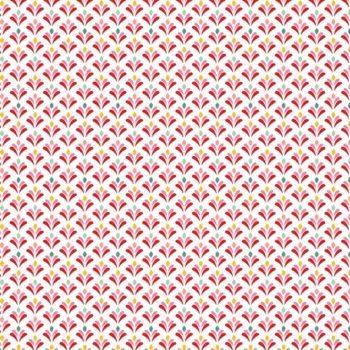 Beschichtete Baumwolle JOY FULLY - weiß