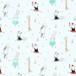 Dancing Animals - hellblau (BIPP Design)