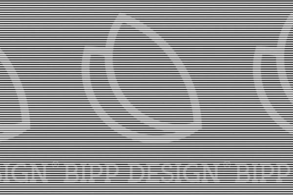 Streifen - schwarz / weiß (BIPP Design)