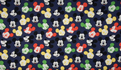 Sommersweat - Colourful Mickey Mouse