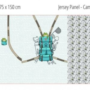 Jersey Panel - Camping Frog