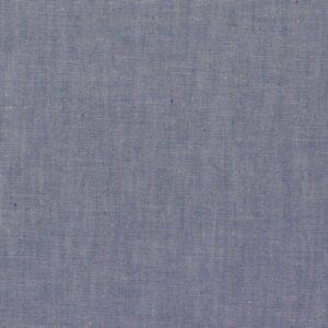 Baumwolle Popelin - meliert - hellblau