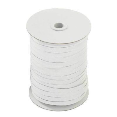 Gummilitze - 8mm - weiß