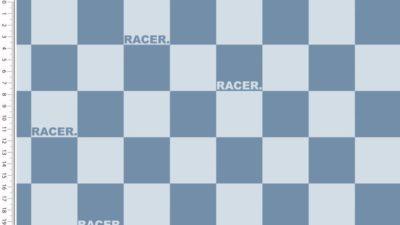 Sommer Sweat - Race - blau