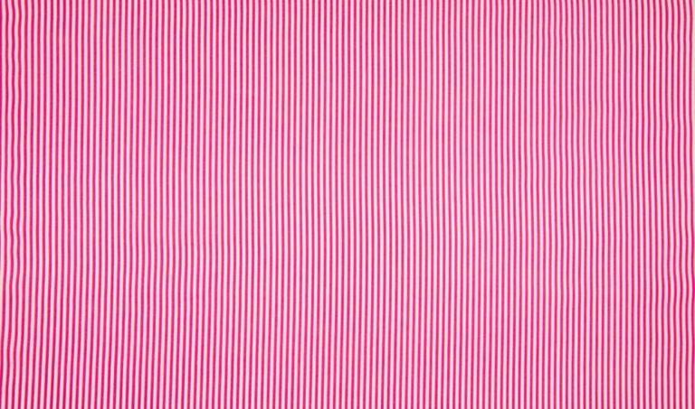 Baumwolle Popelin - Streifen - pink