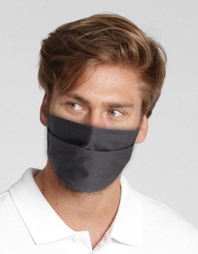 Mund-Nasen-Maske - schwarz