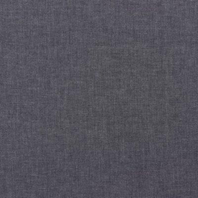 Baumwolle Popelin - meliert - navy