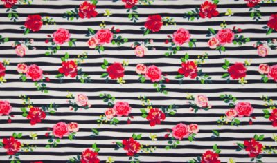 Jersey - Flower Stripe