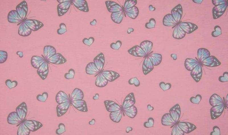 *Glitter Magic Light Jersey* - Butterfly