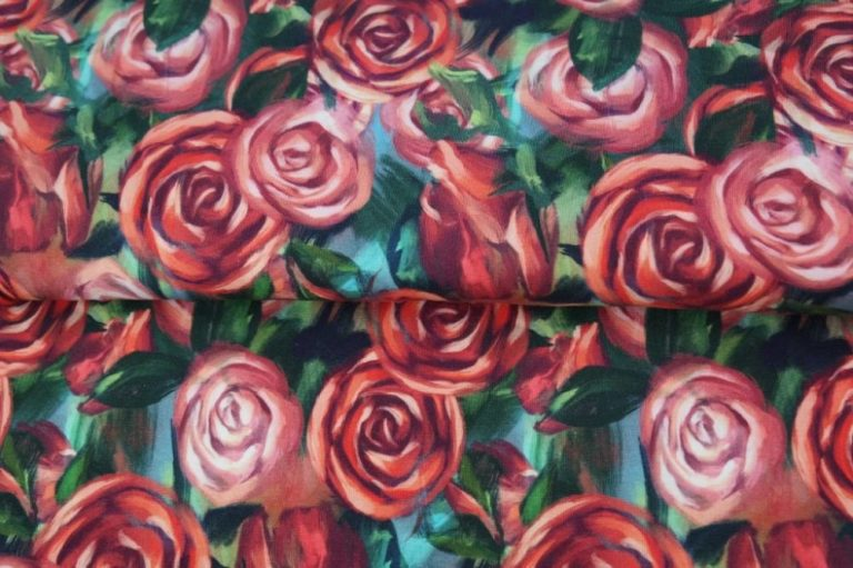 Jersey - Painted Roses