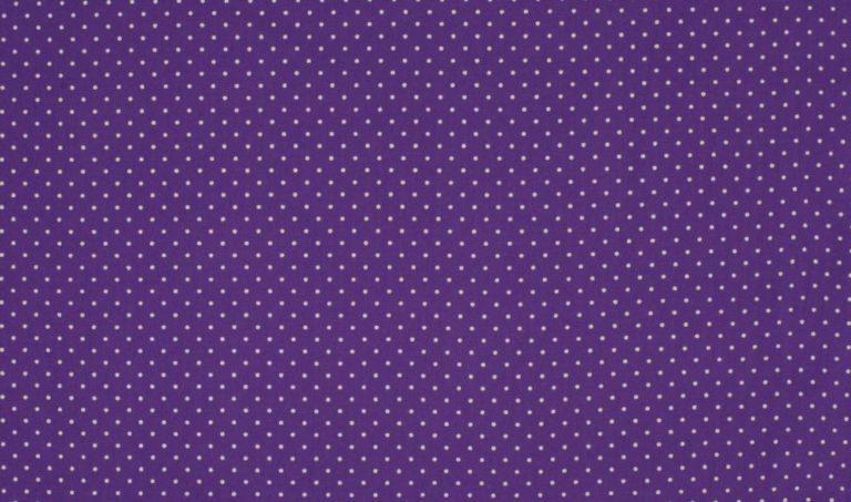 Baumwolle Popelin - Small Dots - lila