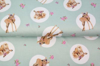 Sommersweat - Deer - mint
