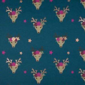 Jersey mit Folie - Fancy Deer