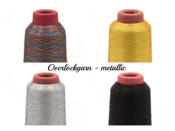 Metallic Overlockgarn