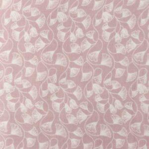 Musselin Baumwolle Ginkgo - flieder