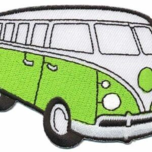 Patch - Hippie Bus - lime
