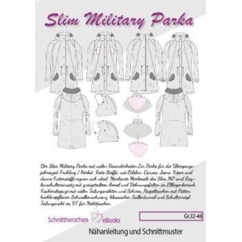 Slim Military Parka