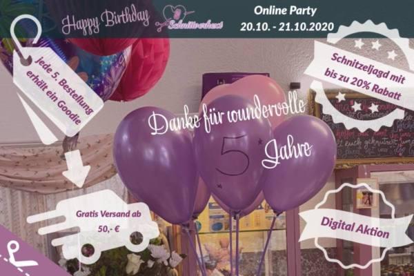 Happy Birthday – 5 Jahre Schnittverhext