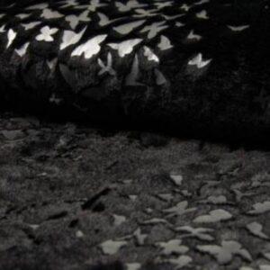 Kunstfell mit Folien - Birds