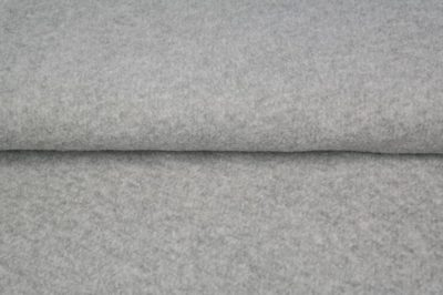 Kuschel Jacquard - grau meliert