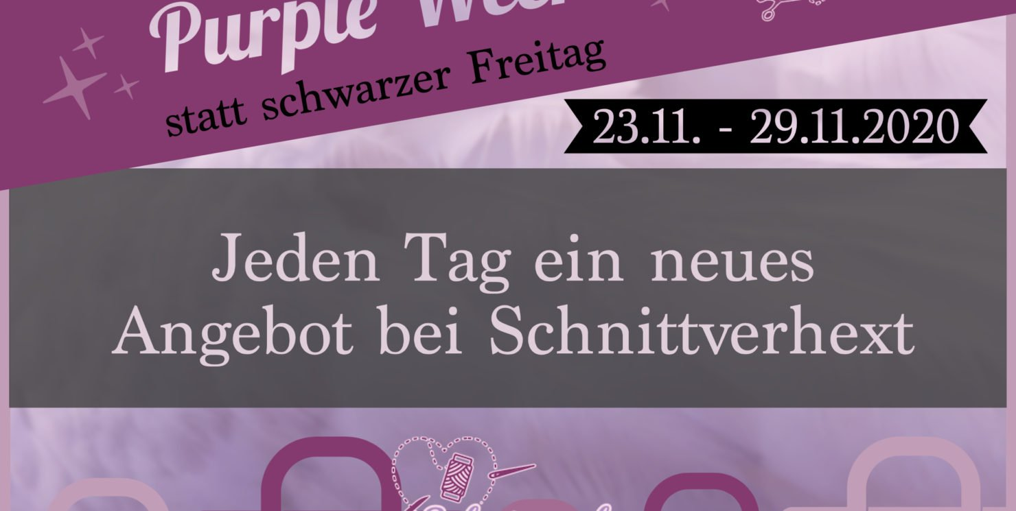 Purple Week vom 23.11. – 29.11.2020