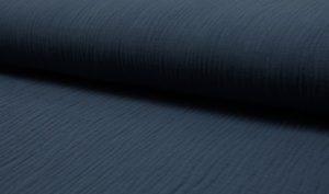 Musselin Baumwolle uni - jeans