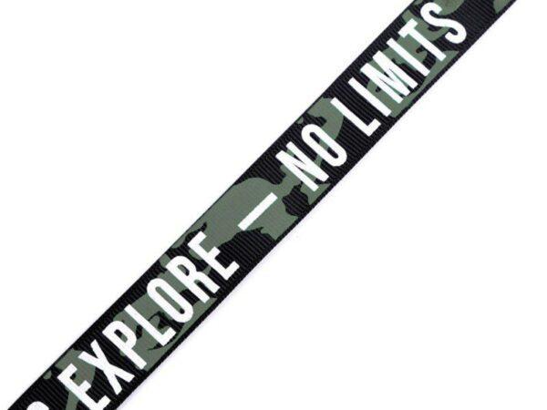 "Ripsband / Retro Stripes - 19 mm - ""No Limits"""