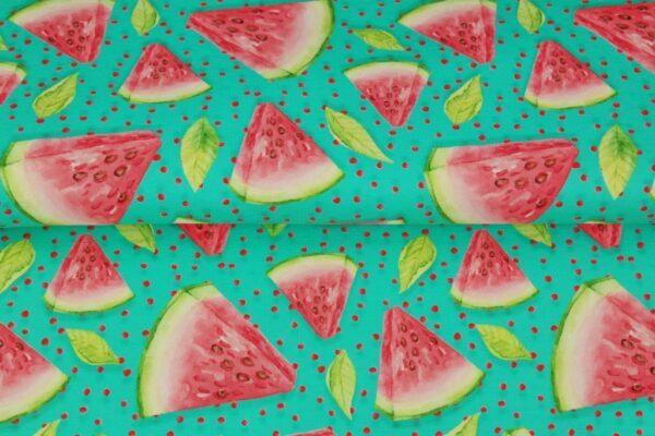 Baumwoll Jersey - Sweet Watermelon