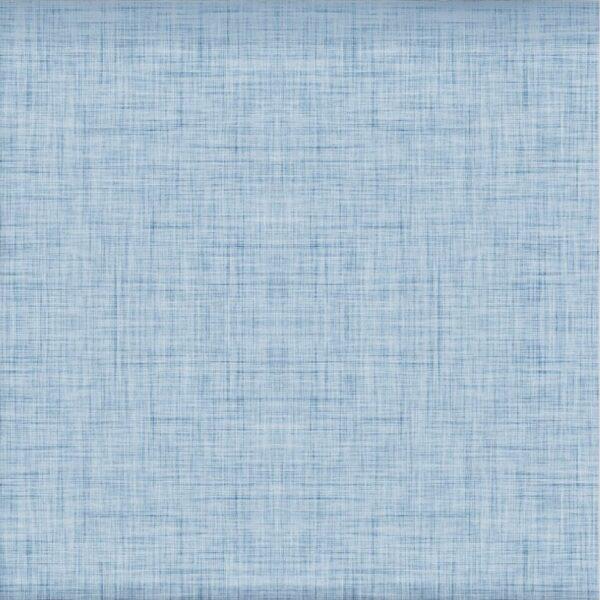 Baumwoll Jersey - Leinen Optik - hellblau