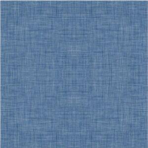 Baumwoll Jersey - Leinen Optik - dunkelblau