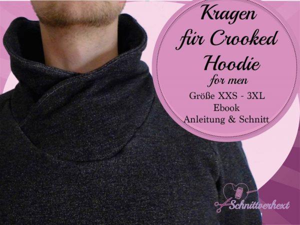 Crooked Hoodie for men Kragen
