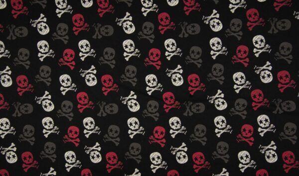 Sommersweat - Skulls - schwarz