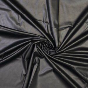 Lederlook Jersey - schwarz - Fibre Mood FM997497999_Tilda